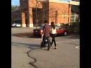 3 октября Кевин Дани и Элина на прогулке в Нью Джерси