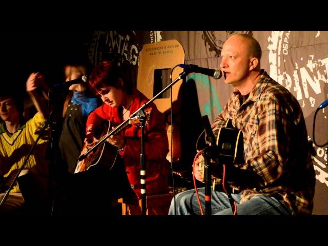 David Ruebush Karen Sawrey Backporch Serenade live @ Pintagon 14 12 12