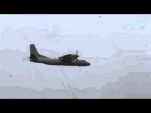 Высший пилотаж на Ан 32