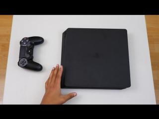 PS4 Slim Unboxing (Распаковка)