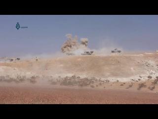 Мощные авиаудары по террористам в Аль-Латамина в провинции Хама