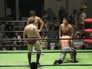 [My1Wrestling.ru] NOAH - Davey Richards Bryan Danielson vs Katsuhiko Nakajima Kota Ibushi