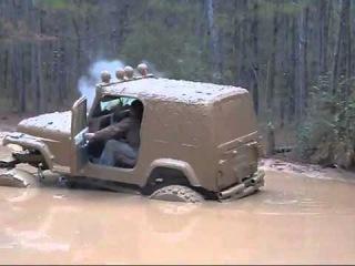 WayaLife 4x4 redneck jeep wrangler in the mud bog mudrun jedburg