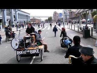 Jazz Mafia Live on Bike/Rock The Bike/Sunday Streets
