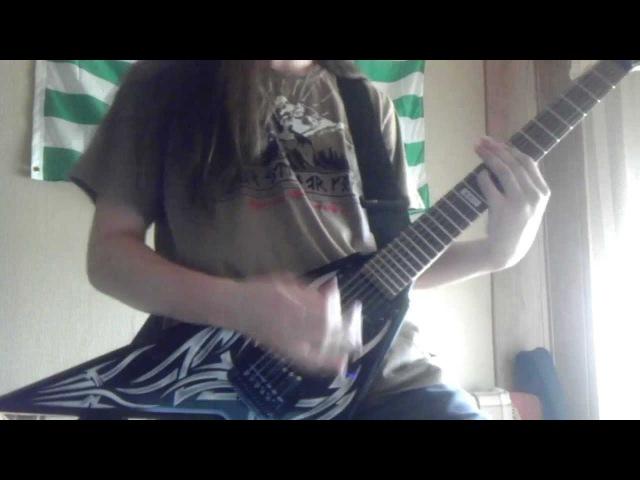 Amon Amarth War of the Gods guitar cover Olavi Mikkonen part