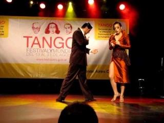Mundial de Tango 2010 Subcampeones - Cristian Correa y Manuela Rossi - Cafe Dominguez