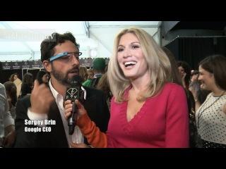 Diane von Furstenburg Spring/Summer 2013 Show + Backstage ft Sergey Brin at NYFW | FashionTV