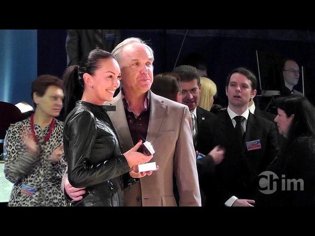 Торжественное присвоение государственного звания Заслуженный мастер спорта Марии Тзапташвили (Танцфорум 2012)