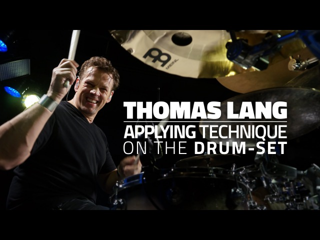 Thomas Lang Applying Technique On The Drum Set Drum Lesson Drumeo