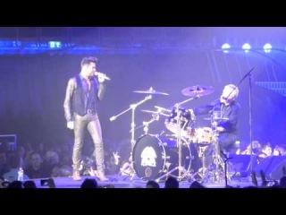 Queen+Adam Lambert - Under Pressure in London (Day 1) 2015-01-17
