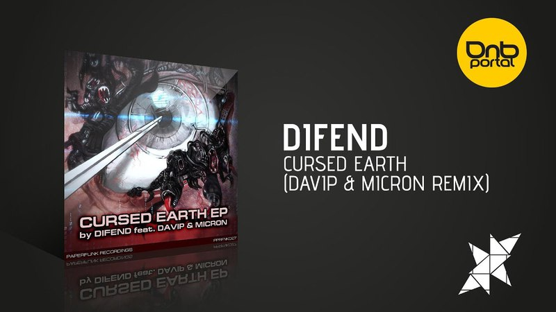Difend Cursed Earth DaVIP Micron Remix Paperfunk Recordings