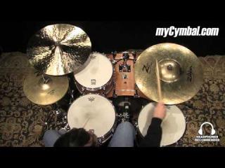 "Used Zildjian 21"" Z Custom Mega Bell Ride Cymbal (UZZCMB-1111214F)"