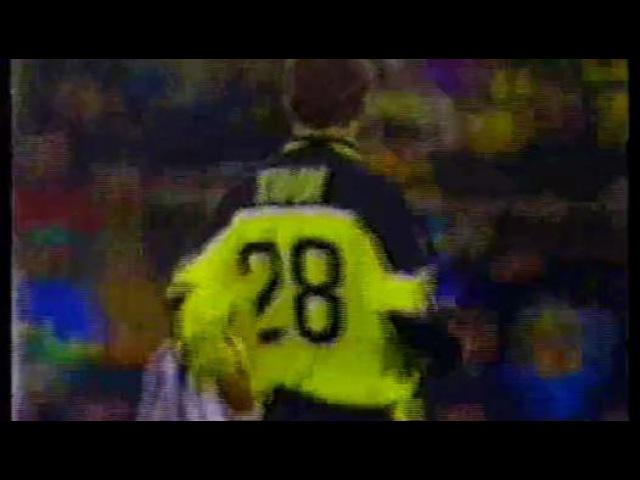 1998 Боруссия Дортмунд - Реал 2 тайм