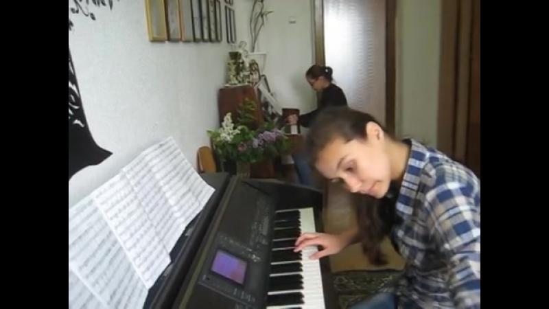 Urok fortepiannogo ansamblya Tonechka Marach i Sa