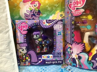 Maude Pie 2015 SDCC My Little Pony Toys R Us Exclusive Pony Ponymania Review & Unboxing