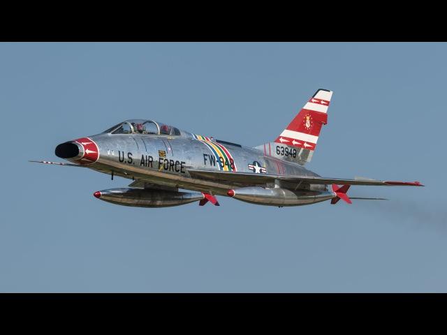 Vietnam Jets MiG 17 A 4 F 100 EAA AirVenture Oshkosh 2015