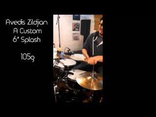 "Avedis Zildjian 6"" A Custom Splash - 105g"