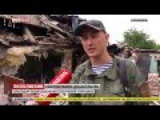 Видео о ужасных последствиях артобстрела Горловки вечером 26 мая. Есть погибшие