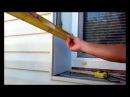 Как сделать откос из пластиковых панелей, когда дом обшит сайдингом