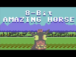 8 Bit Amazing Horse : animated music video : MrWeebl