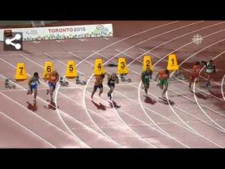 Парапанамериканские игры 2015. Лёгкая атлетика. Мужчины. 100 м. Категория T11. Полуфинал.