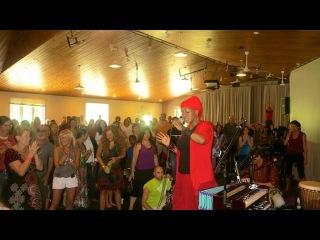 C.C. White - Soul Kirtan!  Maha Mantra (Reggae Style) Omega Fall Chant 2014!