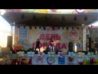 Vlad Bostan - Москва Слезам Не Верит (День города Новосибирск 2015) САН СИТИ