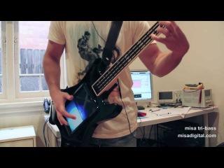misa tri-bass digital guitar demo