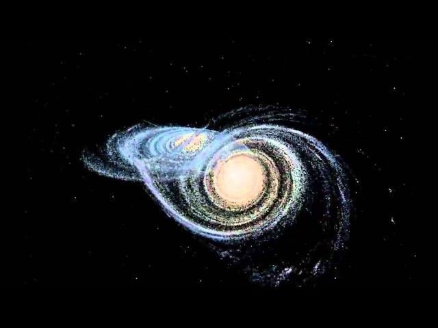Андромеда VS Млечный путь