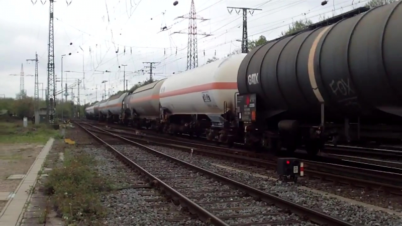Cologne Gremberg Germany 27 4 2015 Freight Train 13