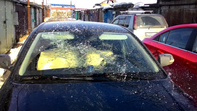 Эффективная защита автомобильных стёкл от дождя грязи льда и насекомых на autobox 89