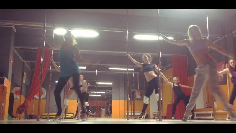 Workout Exotic pole dance by Mila Anastasia Fateeva
