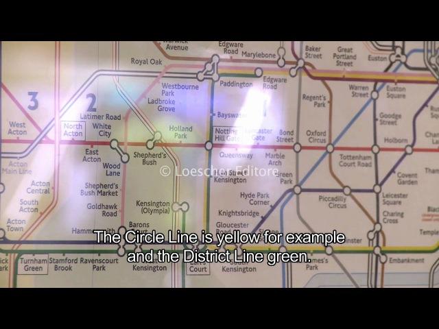 Loescher English Corner 2 2 London transport with subtitles