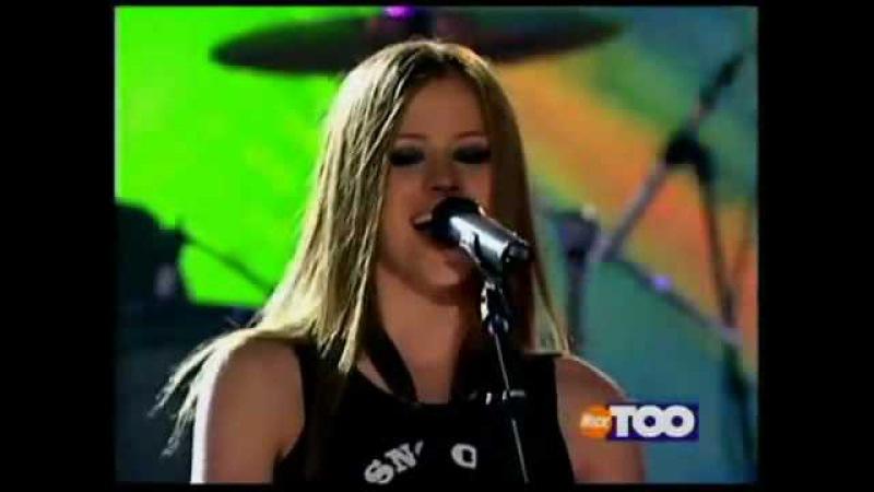 Avril Lavigne Naked Live @ Teen Nick 16 05 2002