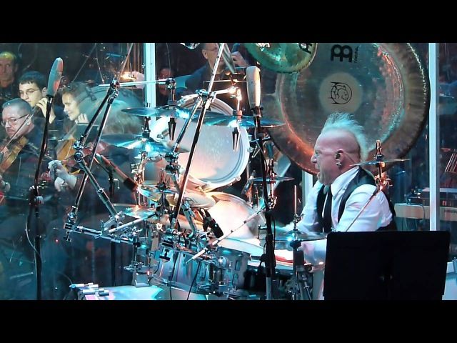 Mike Terrana New World Symphony @ Plovdiv Beauty and the Beat concert with Tarja Turunen