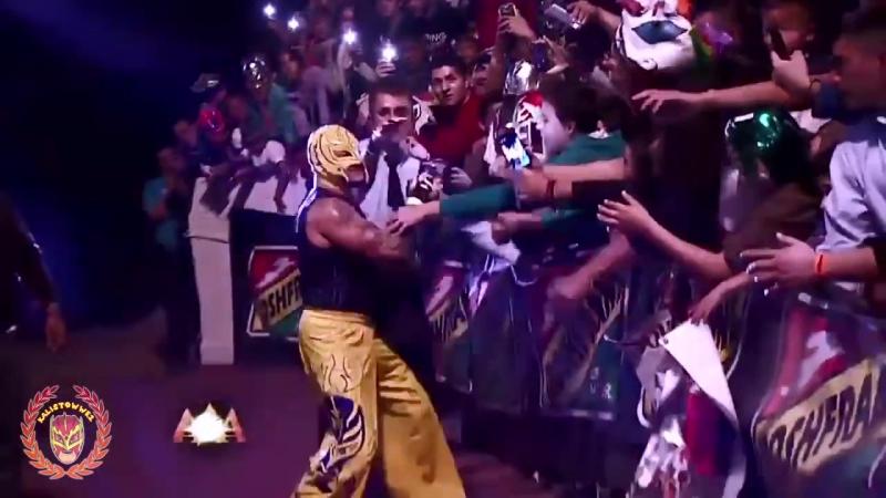 WWE-AAA Rey Mysterio Keep Dreamin [Thanks for 5k subs!] HD