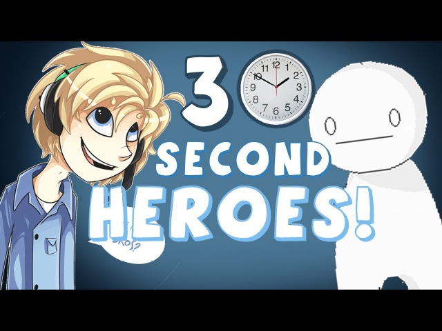 FASTEST GAME EVER Half Minute Hero Super Mega Neo Climax Ultimate Boy MultiPlayer Ep 1