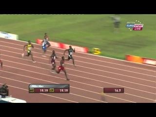 Justin Gatlin 19 87 Men's 200m Semi Final 2 IAAF World Championship Beijing 2015