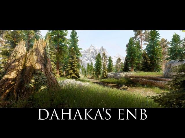 TES V Skyrim Mods DAHAKA'S ENB ALPHA2