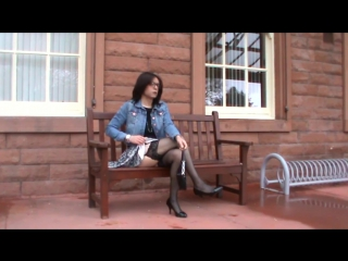 Stormclouds and stockings (transvestite crossdresser)