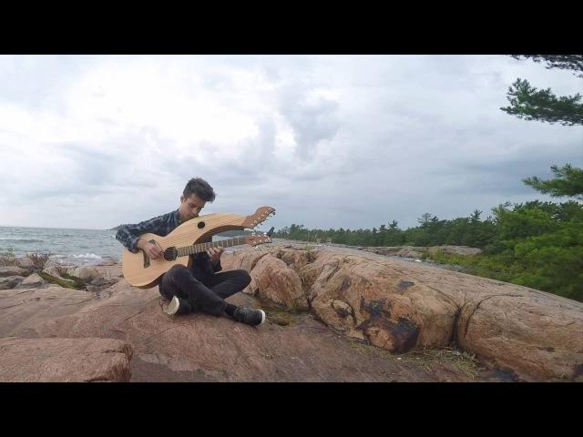 Wind Of Change Scorpions Harp Guitar Cover Jamie Dupuis
