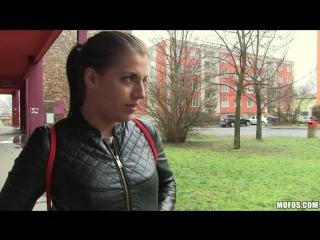 Euro chick flashes ass for cash 18+ #порно #porno