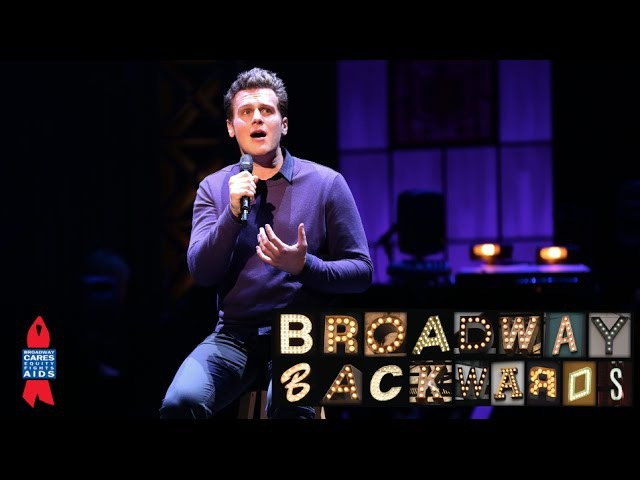 Jonathan Groff, Uzo Aduba, Kyle Dean Massey - 2014 Broadway Backwards