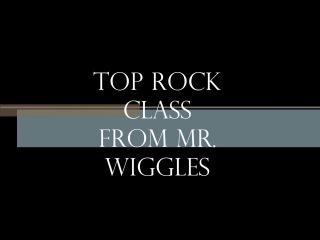 Mr. Wiggles top rock class. Saint-Petersburg V1battle