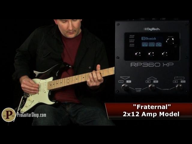 Digitech RP360XP Does Classic Tones