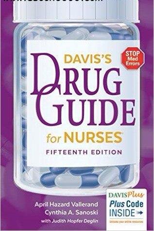 Daviss Drug Guide for Nurses (15th Edition)