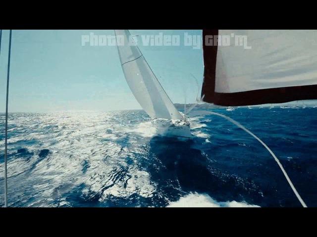 Gro-M photo video yachting sailing sardinia