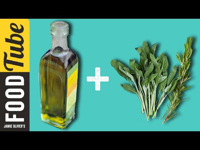 How To Flavour Olive Oil | 1 Minute Tips | Akis Petretzikis