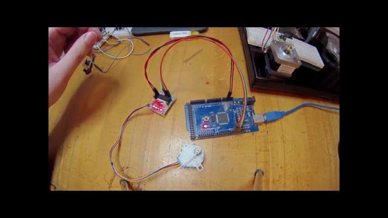 Stepper 28BYJ 48 Arduino