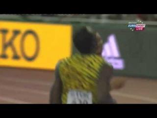 Usain Bolt  Men's 100m Semifinal 1 IAAF World Championship Beijing 2015
